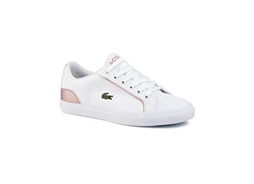 Lacoste Lerond 319 2 CUJ Sneaker Madchen Weiss/Rose - 39 - Sneaker Low