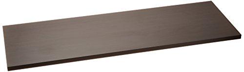 アイリスオーヤマ カラー化粧棚板 LBC-930 ダークオーク