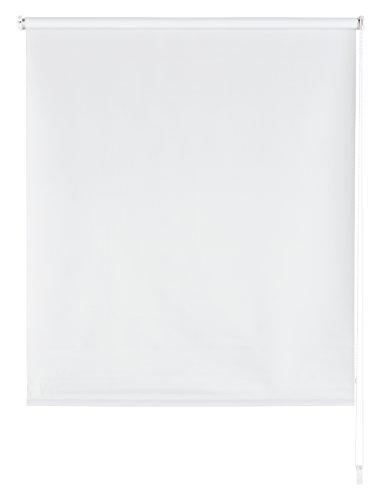 Blindecor Draco Estor Enrollable Opaco Liso, Tela, Blanco Roto, 140 x 175 cm
