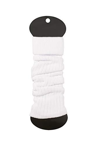 Ateena Scaldamuscoli in cotone, caldo e confortevole, regalo sportivo, in vari colori bianco Taglia unica