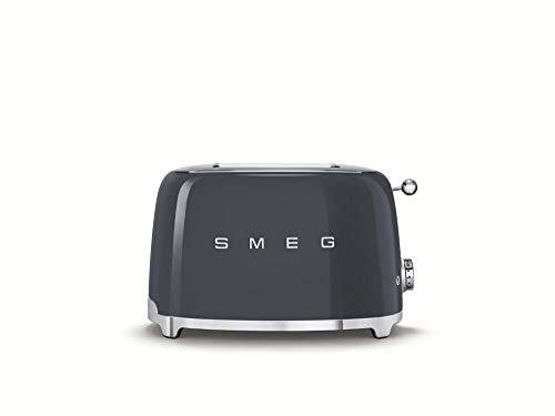 Smeg TSF01GRUK 2 Slice Toaster - Slate Grey