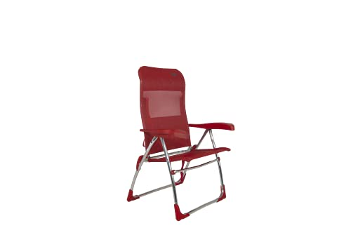 Crespo - Silla de Playa AL-206-7 Posiciones - Rojo