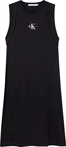 Calvin Klein Jeans Sukienka damska z wiązaniem, Ck czarny, M