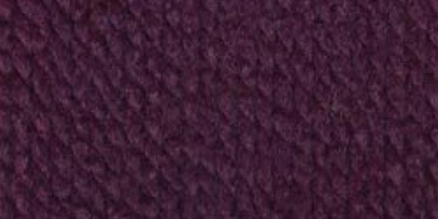 Bulk Buy: Lion Brand Wool Ease Thick & Quick Yarn (3-Pack) Eggplant 640-147
