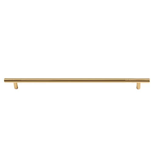Möbelgriff Gold,Schrankgriff Hochwertige Verarbeitung,Schubladengriff Einfach und Elegant,Stangengriff,für Türschubladenschränke in Verschiedenen Größen (1000mm(832mm Center))