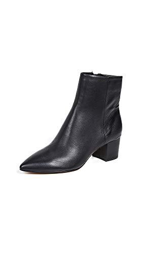 Dolce Vita Women's Bel Point Toe Booties, Black, 10 Medium US