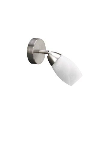 Massive Foco 501503110 - Lámpara (Cepillado, 1 bombilla(s), 12 W, E14, 2700 K, Cromo)