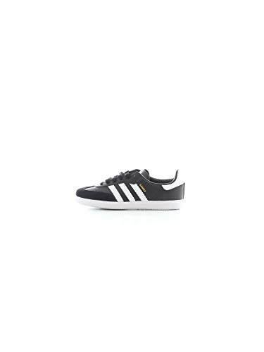 adidas Unisex-Kinder Samba Og C Fitnessschuhe, Schwarz (Negro 000), 30.5 EU