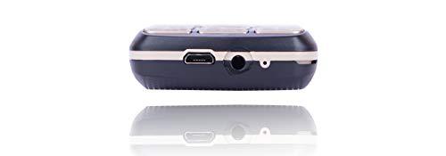 iAir Basic Feature Dual Sim Mobile Phone with 2800mAh Battery, 1.77 inch Display Screen, 0.8 mp Camera (IAIRFPD9, Black)