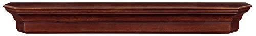 Pearl Mantels 490-60-70 Lindon Wood Wall Shelf, 60-Inch, Distressed Cherry