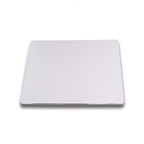 Extraordinary aluminium metalen muismat, geschikt voor spelletjes, woorden leren, kantoor muismat zilver