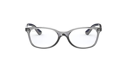 Ray-Ban 0ry1586-3830-49 Gafas, Transparent Grey, 49 Unisex