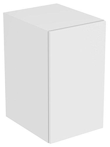 Ideaal Standaard TONIC II zijkast, 600mm hoog, stop rechts of links, 1 deur R4308, Kleur: Eikenhouten grijs decor - R4308FE