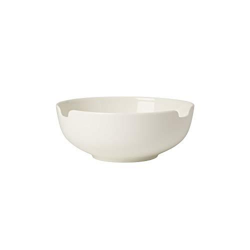 Villeroy & Boch Soup Passion Suppen Bol, Groß, Premium Porzellan, Weiß