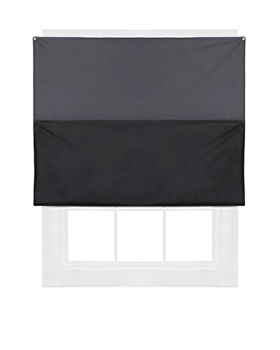 Umbra Complete Blackout Panel, 48 x 56 Inches, Charcoal