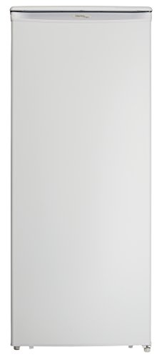 Danby DUFM101A2WDD 10.1 Cu.Ft. Garage Ready Upright Freezer with 5 Shelves, Mechanical Thermostat...