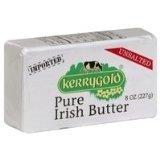 Kerrygold Pure Irish Grass-fed Butter, Unsalted, 8 Oz (10 Pack)