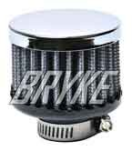5/8 Mini Breather Filter Clamp On Fuel Cell Rear End Bryke Racing