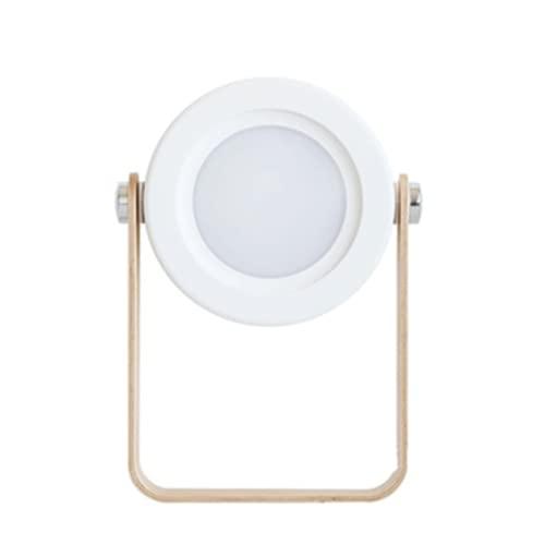 N / B Lámpara de Linterna retráctil portátil, Interruptor táctil, Tres Engranajes para Ajustar Las Luces, protección Ocular Plegable, Luces de Linterna de Lectura de Escritorio de Carga USB