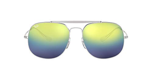 Ray-Ban Herren Sonnenbrille RB3561, Silber/Mehrfarbig, 57