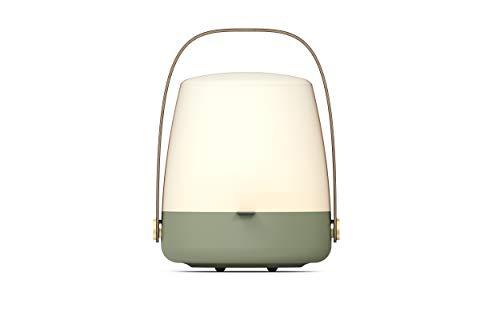 Kooduu Lite-Up - Design LED-Licht, Hochwertige Nachttischlampe - Dimmbar, Tischlampe für Kinderzimmer und Stimmungslicht in Schlafzimmer & Wohnzimmer - Dänisches Design, Kabellos, 20x26cm - Petroleum