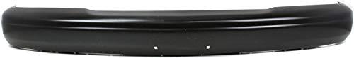 Front Bumper Compatible with CHEVROLET EXPRESS/SAVANA VAN 1996-2002 Black