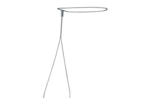 ComfortBaby ® Babybett-Himmelstange/Himmelhalter zum Hineinstecken weiß (Höhe: ca. 70 cm)