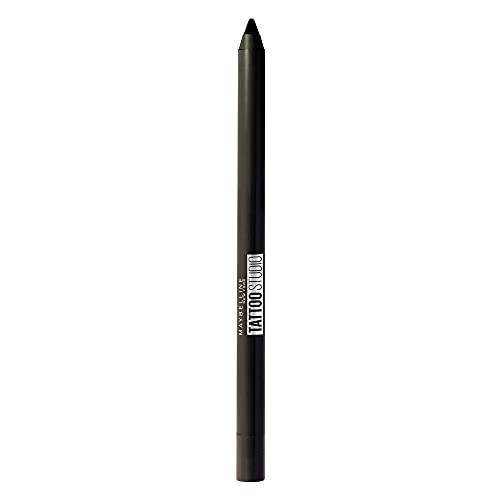 maybelline eye pencils Maybelline New York Tattoostudio Waterproof, Long Wearing, Eyeliner Pencil Makeup, Deep Onyx, 0.04 Ounce
