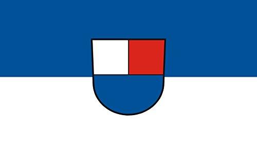 Unbekannt magFlags Tisch-Fahne/Tisch-Flagge: Westerstetten 15x25cm inkl. Tisch-Ständer