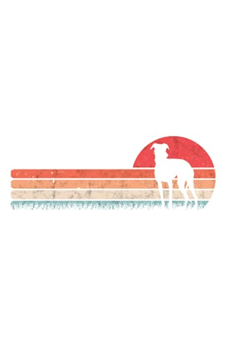 Whippet Windhund Tagesplaner: Whippet Retro Windhund Vintage Sighthound / Kalender 2022 / Wochenplaner Tagesplaner Planer / Plan