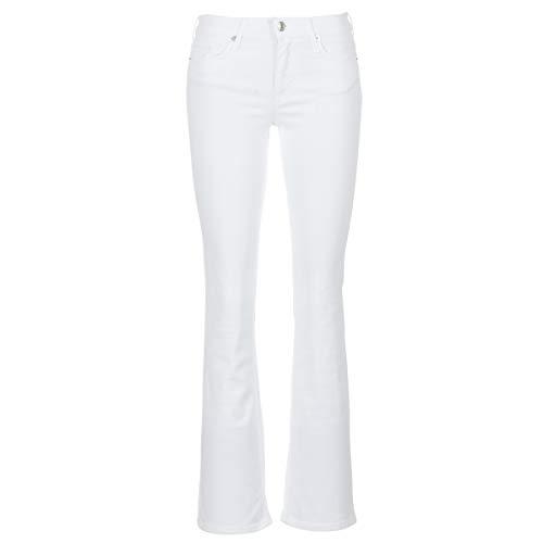 moony mood IALOLAO Jeans Femmes Weiss - US 32 - Bootcut Jeans