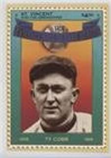 Ty Cobb (Baseball Card) 1992 St. Vincent and the Grenadines Baseball Hall of Fame Heroes Stamp Cards - Box Set [Base] #1