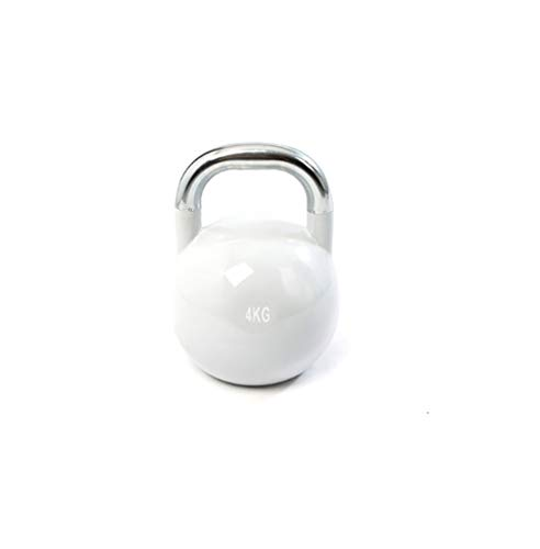 73HA73 Pesa Rusa Kettlebell Lifting Workout Heavy Duty High Todo el Material de Acero Kettlebell Competition Quality for Gym Home Fitness 4 kg, 6 kg, 8 kg, 10 kg, 12 kg,4KG