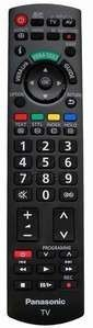 Panasonic Viera TV Remote Control N2QAYB000328, Fits Many LCD Models by Panasonic