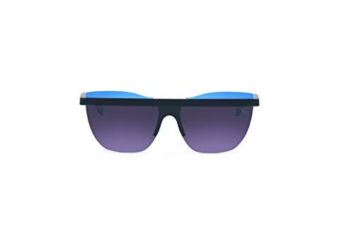 Saraghina PRINCE5OVER-115SPB/S - Gafas de sol unisex, nailon ultraligero, color negro y azul