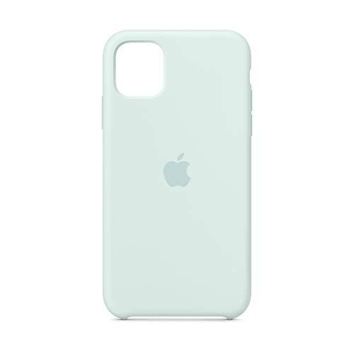 Apple Silikon Case (für iPhone 11) - Meerschaum