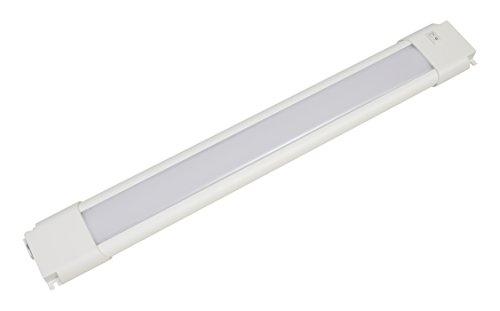 LEDVANCE 8watts 74345 18 inch Slim Convertible LED Under Cabinet Fixture 8 Watts 450 lumens White Light, 18-inch