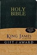 Holy Bible: King James Version Black Leather-Look Gift & Award Bible (Bible Kjv)