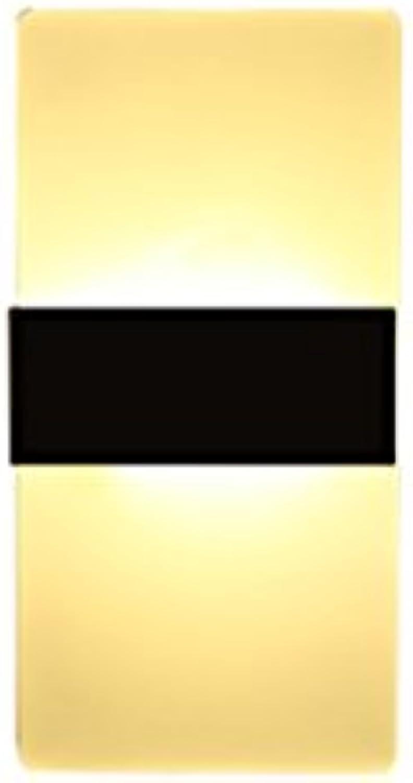 XINYALAMP Moderne minimalistische Nachttischlampe nordische kreative Wohnzimmer Wandleuchte (Farbe   Schwarz-10  27cm)