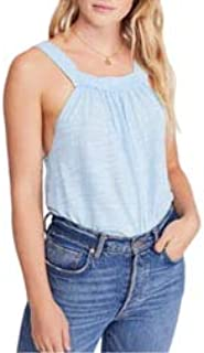 Free People Good for You Tank Top Blue Xs