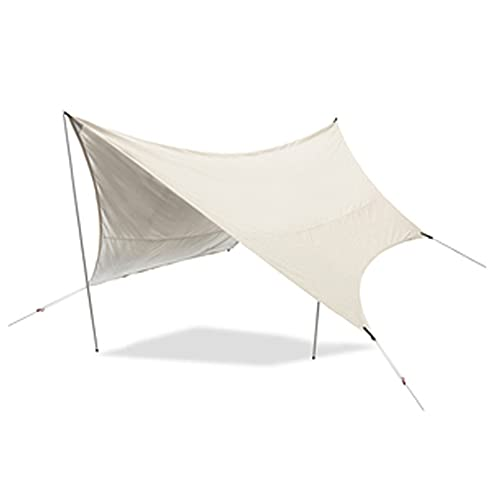 GHGD Lona para Acampar, Lona Multifuncional Impermeable para Tienda con Bolsa De Transporte Ligera Y Compacta para Mochileros, Senderismo, Viajes
