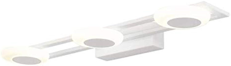 FXMJ 12W Moderne Acryl DREI Kpfe LED Spiegelleuchte Badleuchte, Weies Peeling Einfachheit Schminklicht Beleuchtung Mode Badezimmer Lampe