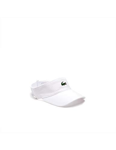 Lacoste, Visor-Weiß, Grün, nosize Kopfbedeckungen