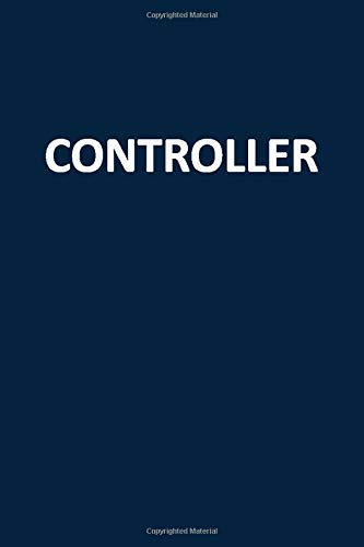 Controller: Blank, Lined Journal Notebook (Softcover)