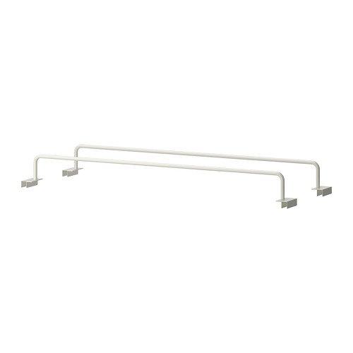 IKEA KOMPLEMENT Schuhträger für Ausziehboden; in weiß; (75x58cm); 2 Stück