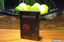 Snoke E-Zigar. Tobacco ohne Nikotin ONE Set mit Akku + 1x CAP, Cigarette, NEU