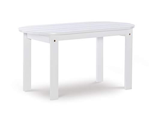 Linon Jayde Adirondack Coffee Table, White