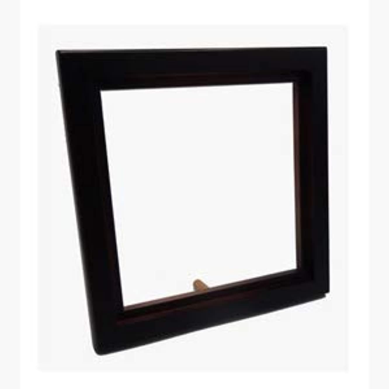 SFS BLANK Wooden Dark Brown Photo Frame Sublimation Heat Transfer 6x6 inches 10x10cm