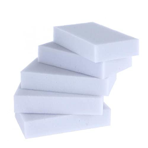 PiniceCore 100pc Limpieza Esponja Esponjas Espuma Limpieza Almohadilla Borrador Esponja para Baño Baño De Superficie Suelo De Cocina