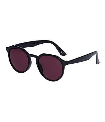 SIX Sonnenbrillen für Frauen und Männer, unisex, nachhaltig, mit recyceltem Kunststoff, Linsen-Kategorie 3, UV400 Filter (326-330)